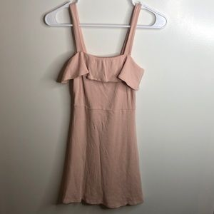 Forever 21 Baby Pink Mini Dress